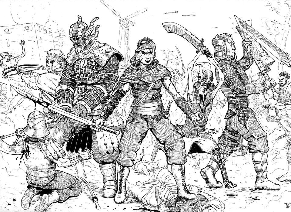 Kenshi   An Open Ended, Squad Based RPG