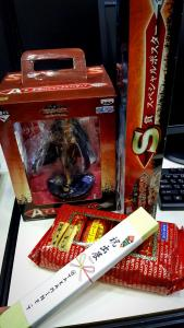Gifts from fans at TGS