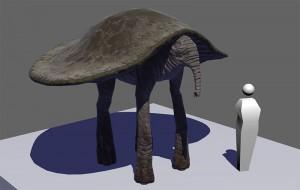 Kenshi | 3D Elephant Turtle Beast Design
