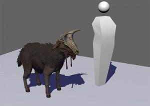 Kenshi | 3D Goat Beast Design