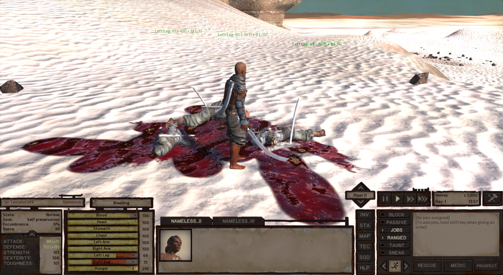 moment Chris first created it… Kenshi will reach full