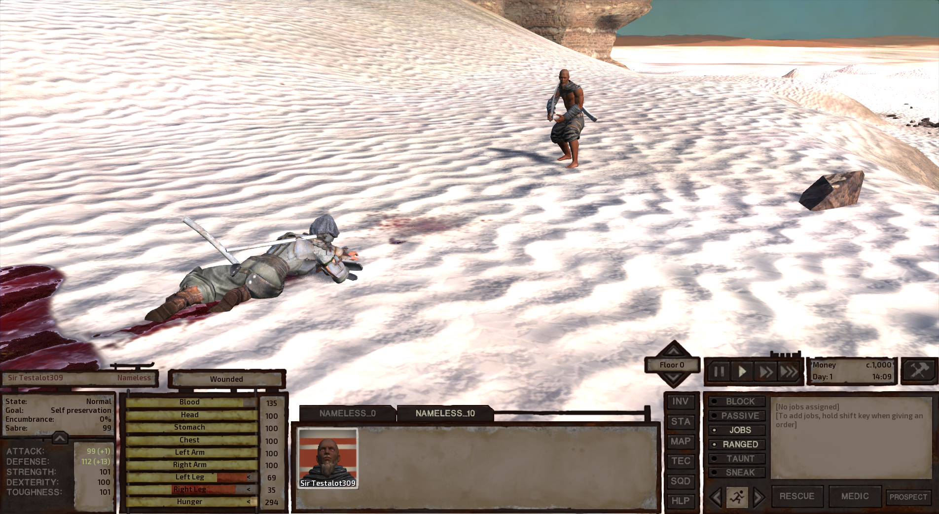 Blog #24: The Final Countdown - Kenshi | An Open Ended